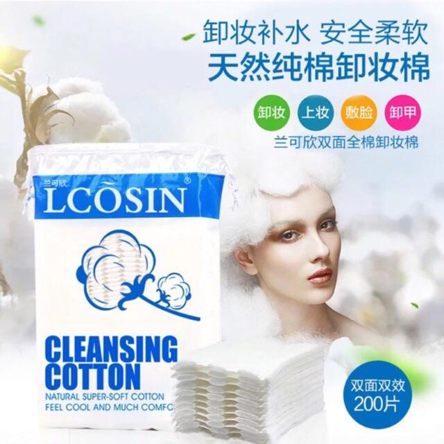 200 miếng bông rẩy trang Lcosin