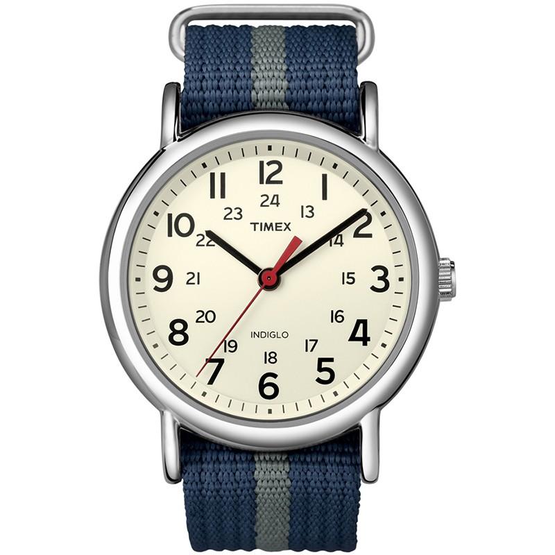 Đồng hồ unisex Timex Weekender dây vải T2N654
