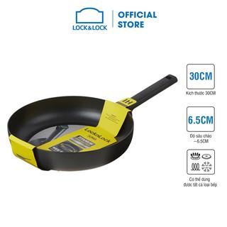 [Mã LIFEHL9 giảm 8% tối đa 100K đơn 250K] Chảo rán Soma Lock&Lock 30cm (Có thể dùng bếp từ) - Màu đen - LMH1303IH thumbnail