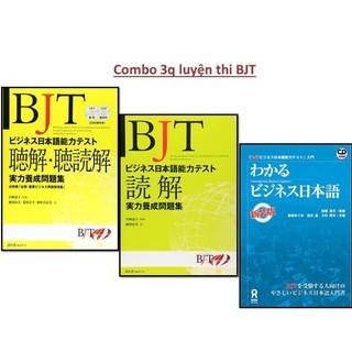 Sách tiếng Nhật - Combo sách tiếng Nhật luyện thi BJT (Kỳ thi năng lực tiếng Nhật thương mại)