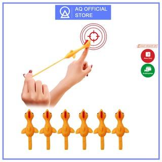 (ĐƯỢC MUA 10) Đồ chơi bắn gà vui nhộn cao su silicon, dính tường chất liệu an toàn không độc hại thumbnail