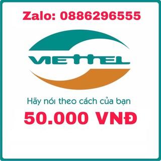 Thẻ cào Viettel 50.000đ Chiết Khấu Cao