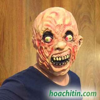 Mặt nạ cao su zombie phân hủy