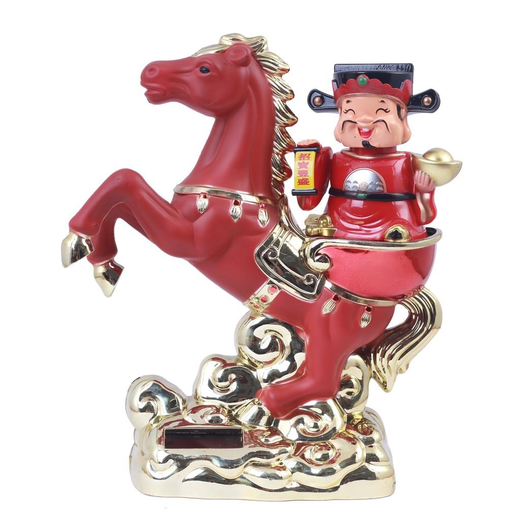 Tượng Thần Tài Cưỡi Ngựa