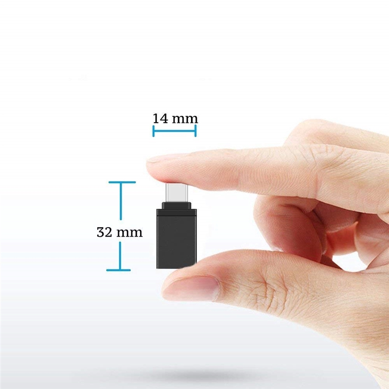 Đầu chuyển đổi USB 3.0 sang loại C chất liệu hợp kim nhôm tiện dụng