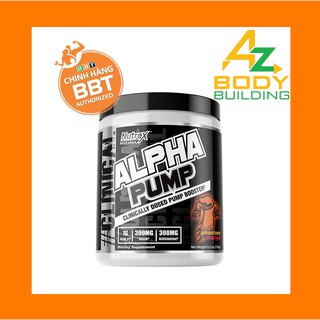 ALPHA PUMP Hỗ Trợ Pump Cơ Hiệu Quả Kết Hợp Pre-workout – 20 liều dùng