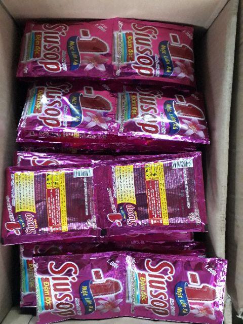 Combo 5 dây Nước xã vãi Siusop màu hồng- dây 10 gói
