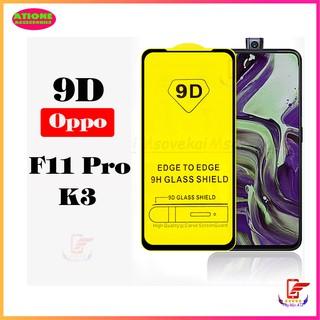Kính cường lực Oppo F11 Pro/ K3 – Full màn hình- Độ cứng 9H