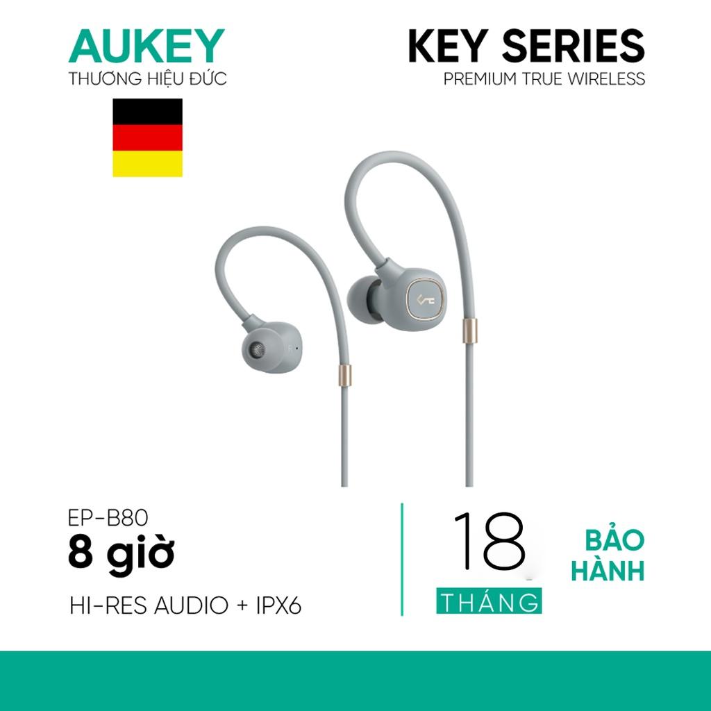 Tai Nghe Bluetooth AUKEY EP-B80 Dynamic Driver 10mm, Chống Nước IPX6, Pin  Đến 8H