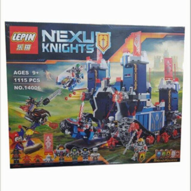 Xếp hình Nexo Knights 14006 - 21501188 , 27585505 , 322_27585505 , 720000 , Xep-hinh-Nexo-Knights-14006-322_27585505 , shopee.vn , Xếp hình Nexo Knights 14006
