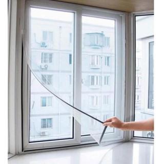 Lưới dán cửa sổ chống muỗi 130x150cm (Trắng)