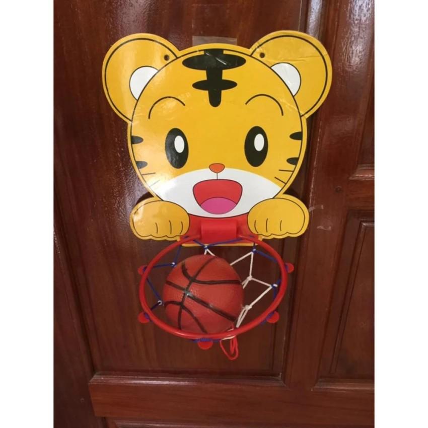 Bộ đồ chơi bóng rổ mini treo tường ( có 1 quả bóng kèm theo ) vrg1174