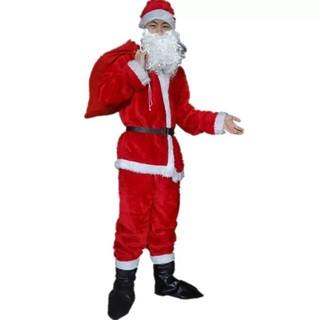 [Noel] Quần áo ông già noel đầy đủ phụ kiện cho người lớn