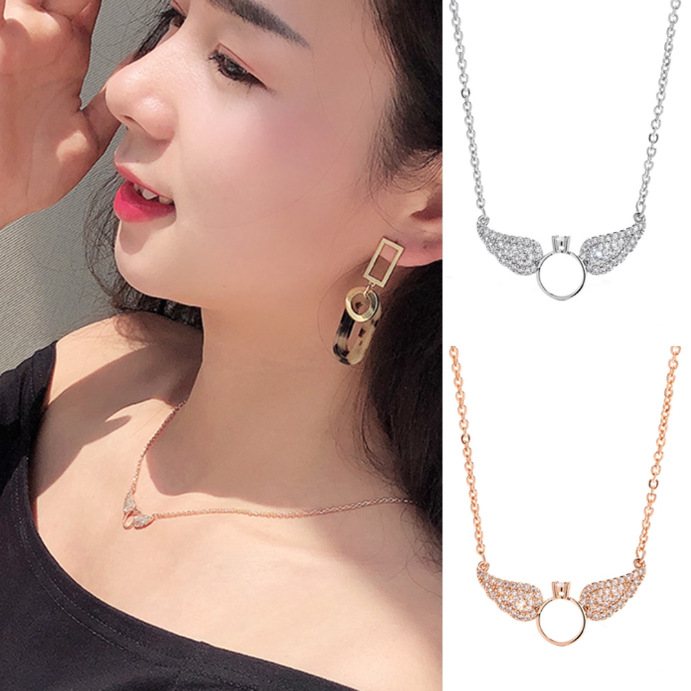 Wings Pendants Necklaces Women Choker Necklace Jewelry Gifts