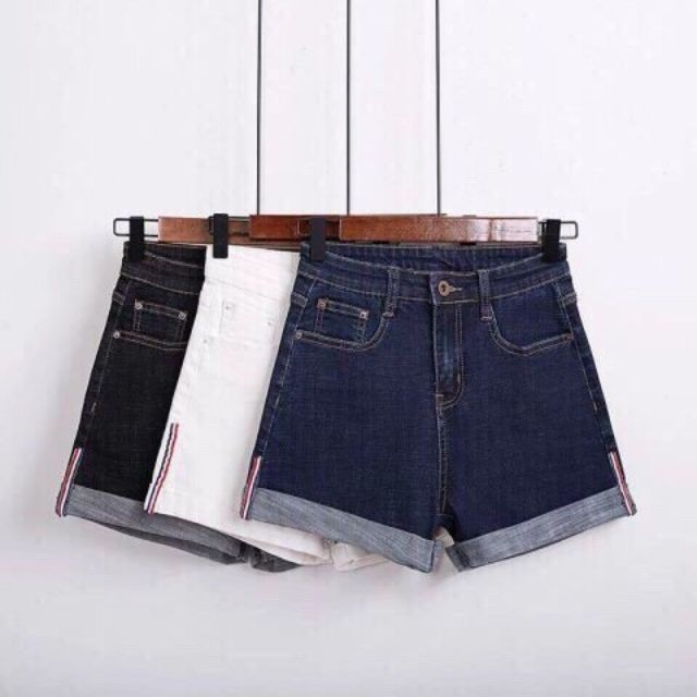 Quần đùi jean nữ cao cấp dày bao đẹp y hình giá hạt dẻ mua hai quần bất kỳ free ship.