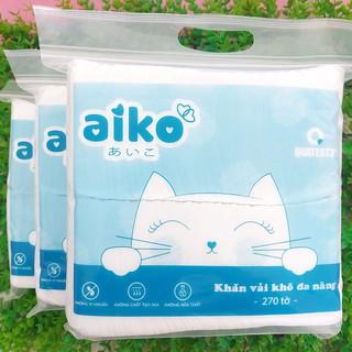 Khăn vải khô cao cấp đa năng Aiko 270 tờ thumbnail