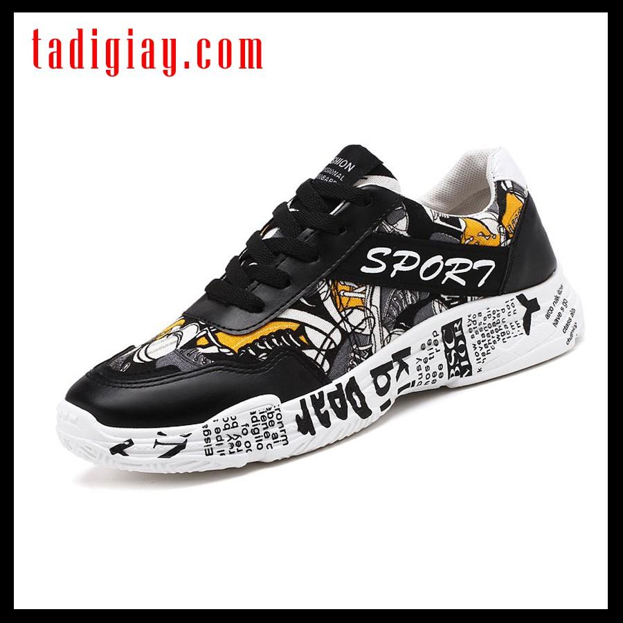 Giày Dày Sneaker Nam Đẹp Fashion Thời Trang 2021 Giày Dày Nam Đế Độn Đế Sneakers Unisex Cố Thấp Tăng Chiều Cao Ulzzang