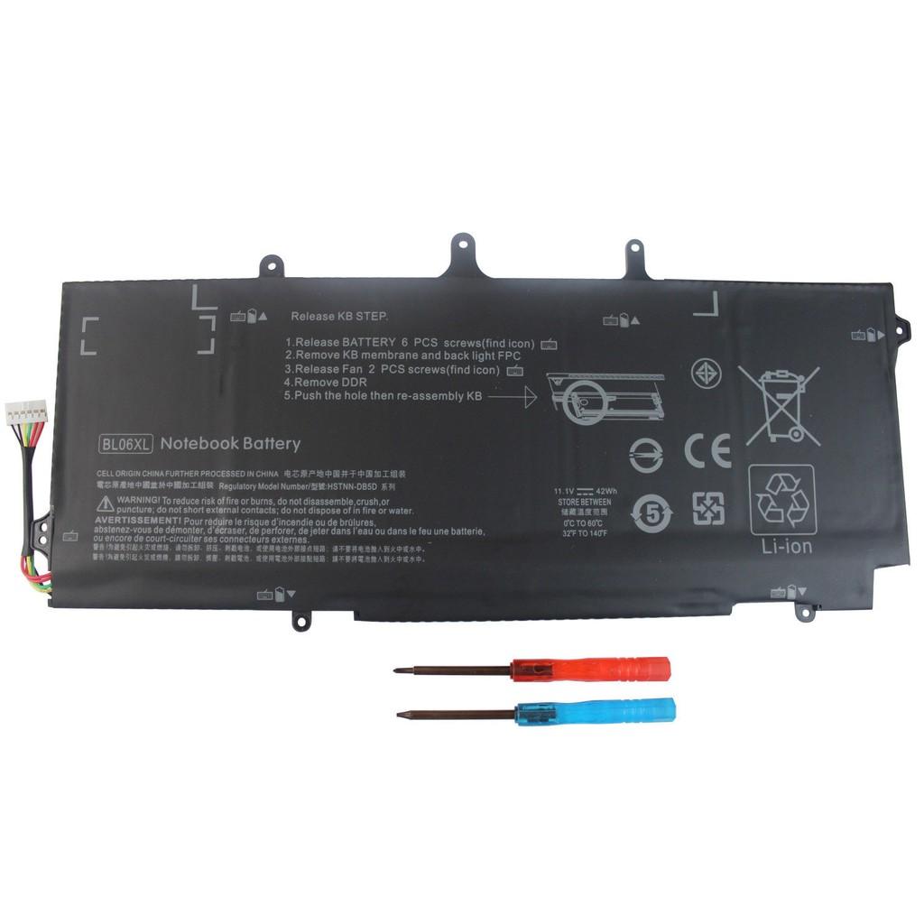Pin laptop HP BL06XL Battery HP HSTNN-DB5D HSTNN-W02C,Folio 1040 G1,1040 g2,