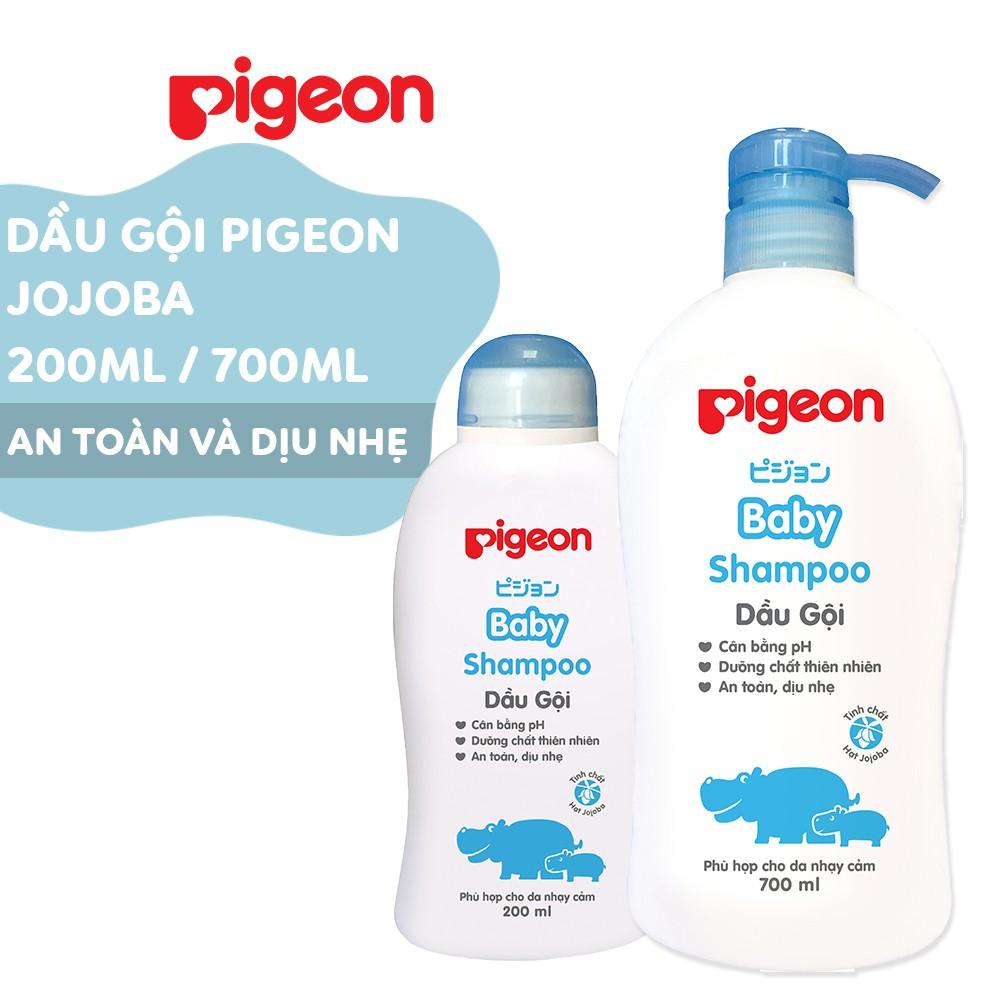 Dầu gội dịu nhẹ Jojoba Pigeon 200ml/700ml