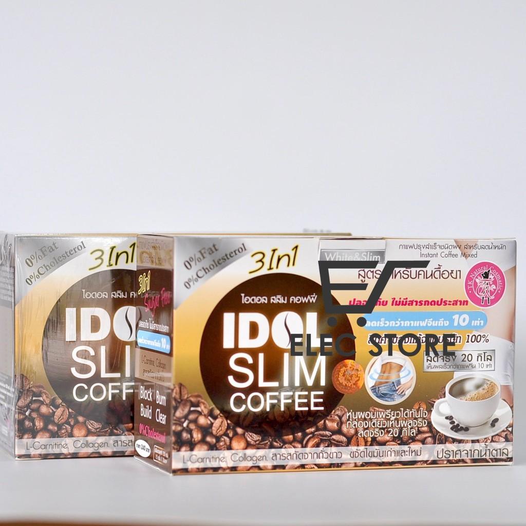 Cà phê Idol Slim Coffee Thái Lan (Hộp 10góix15g)
