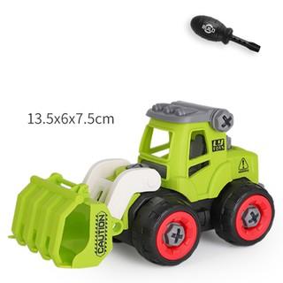 Xe đồ chơi mô hình ô tô tháo lắp dễ dàng hiệu Híp s Toys MODEL 996E bằng nhựa 4