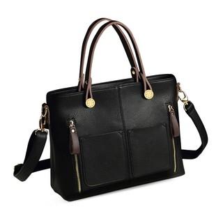 Túi xách nữ TT cao cấp ELLY - EL2 đen thumbnail