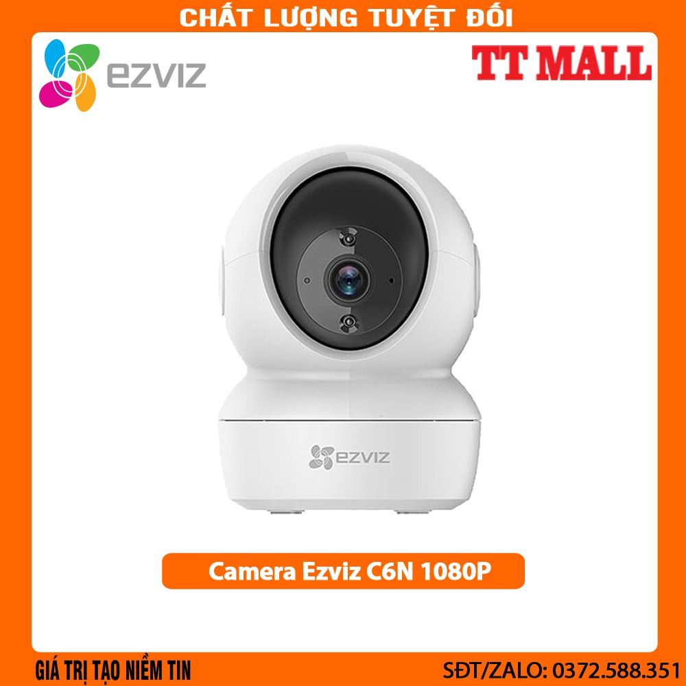[Mã 1510ELSALE hoàn 7% đơn 300K] Camera ip wifi Ezviz C6N 1080p - Hàng chính hãng bảo hành 2 năm