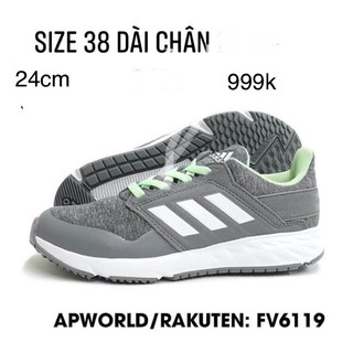 [Sẵn, Size 38, auth] Giày chạy Adidas running vợt sale 50% Nhật