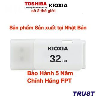 USB 32GB Kioxia (Toshiba) - Sản xuất tại Nhật Bản-32GB- Bảo Hành 5 Năm- Chính Hãng FPT