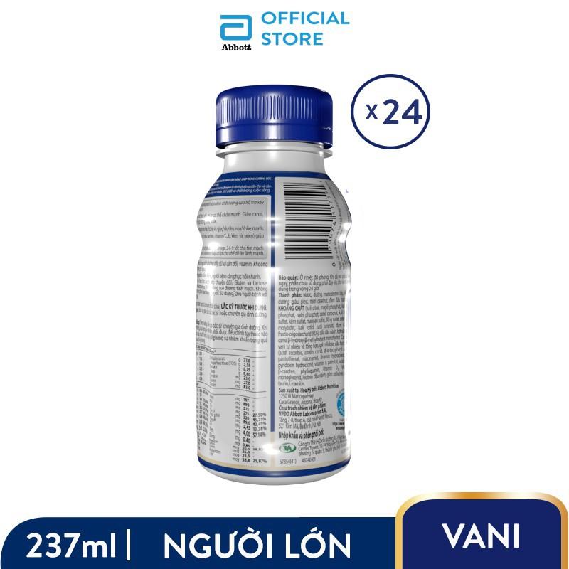 [Quà TẾT] Thùng 24 chai Ensure Vigor HMB 237ml/chai phiên bản Tết