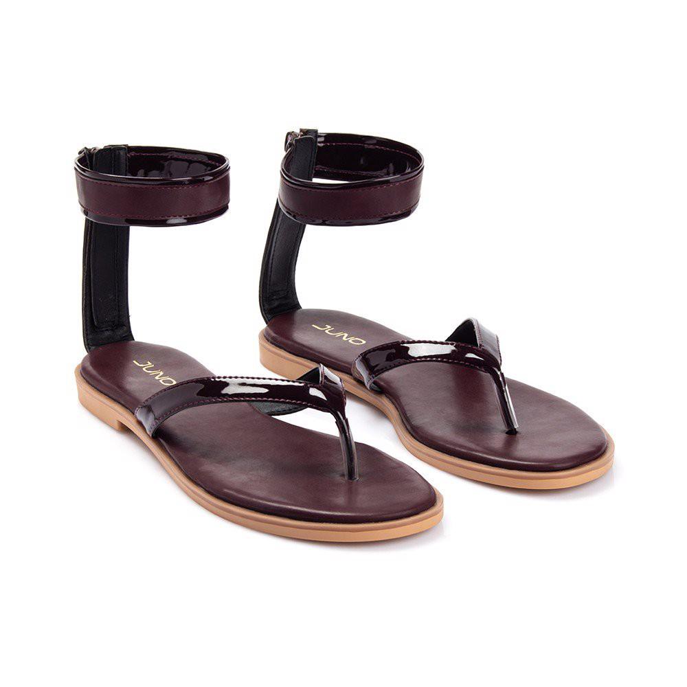 Juno - Giày xăng đan quai ôm cổ chân SD