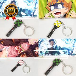 Demon Slayer: Kimetsu No Yaiba Figures Anime Moive Keychains Toys EDC Whistle Survival Tools