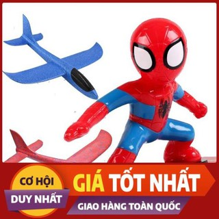 Hotsale [Mã TOYDEC giảm 10% tối đa 15K đơn từ 50K] Đồ chơi người nhện trượt ván cho bé