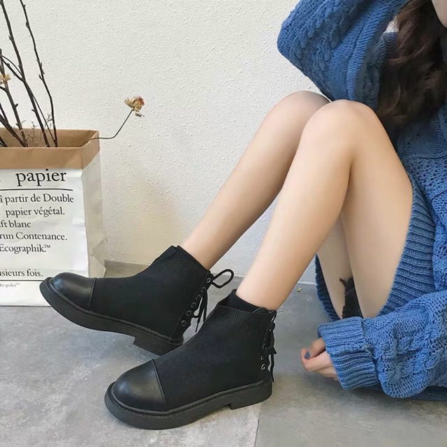 [ORDER] Giày boots Ulzzang