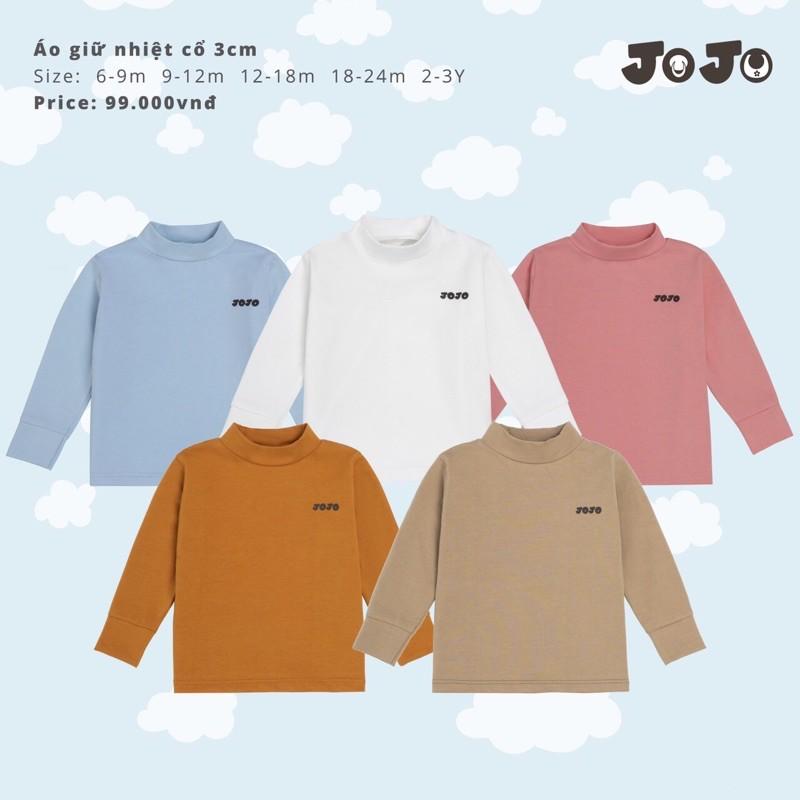 áo giữ nhiệt 3cm JoJo( áo lẻ)