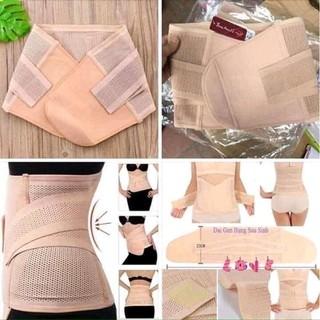 đai nịt bụng 3D thông hơi thu nhỏ vòng eo và định hình cột sống lưng