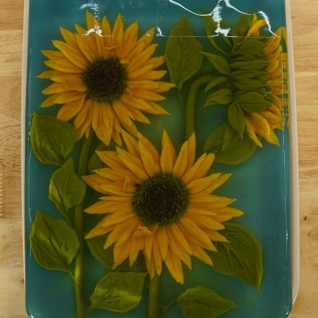 [Voucher-Khóa học Online] Thạch rau câu 3D: Vẽ hoa hướng dương với đế cacao chuối giải nhiệt mùa hè [Toàn Quốc]