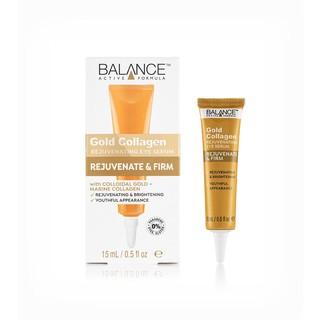 Kem Dưỡng Mắt Balance Chống Lão Hóa Trẻ Hóa Gold Collagen Active Formula 15ml thumbnail