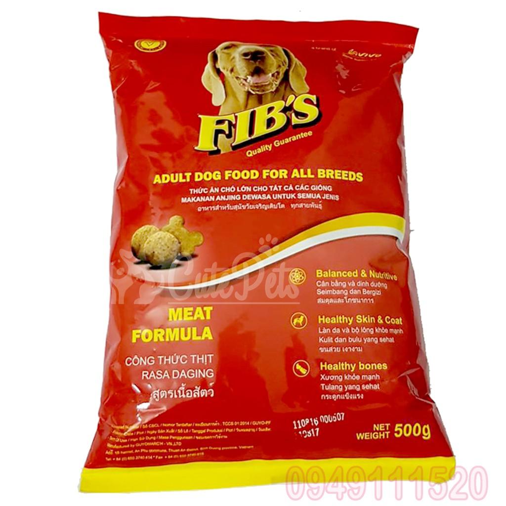 Thức ăn hạt khô cho chó lớn trưởng thành FIB'S 400g