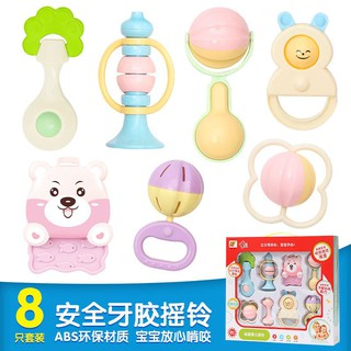 2018 Hot sell new baby hand bell set educational toy