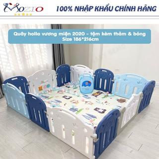 Đồ chơi trẻ em 🌞 Quây vương miện HOLLA tặng kèm thảm, 100 bóng và giỏ đựng bóng Mozio store