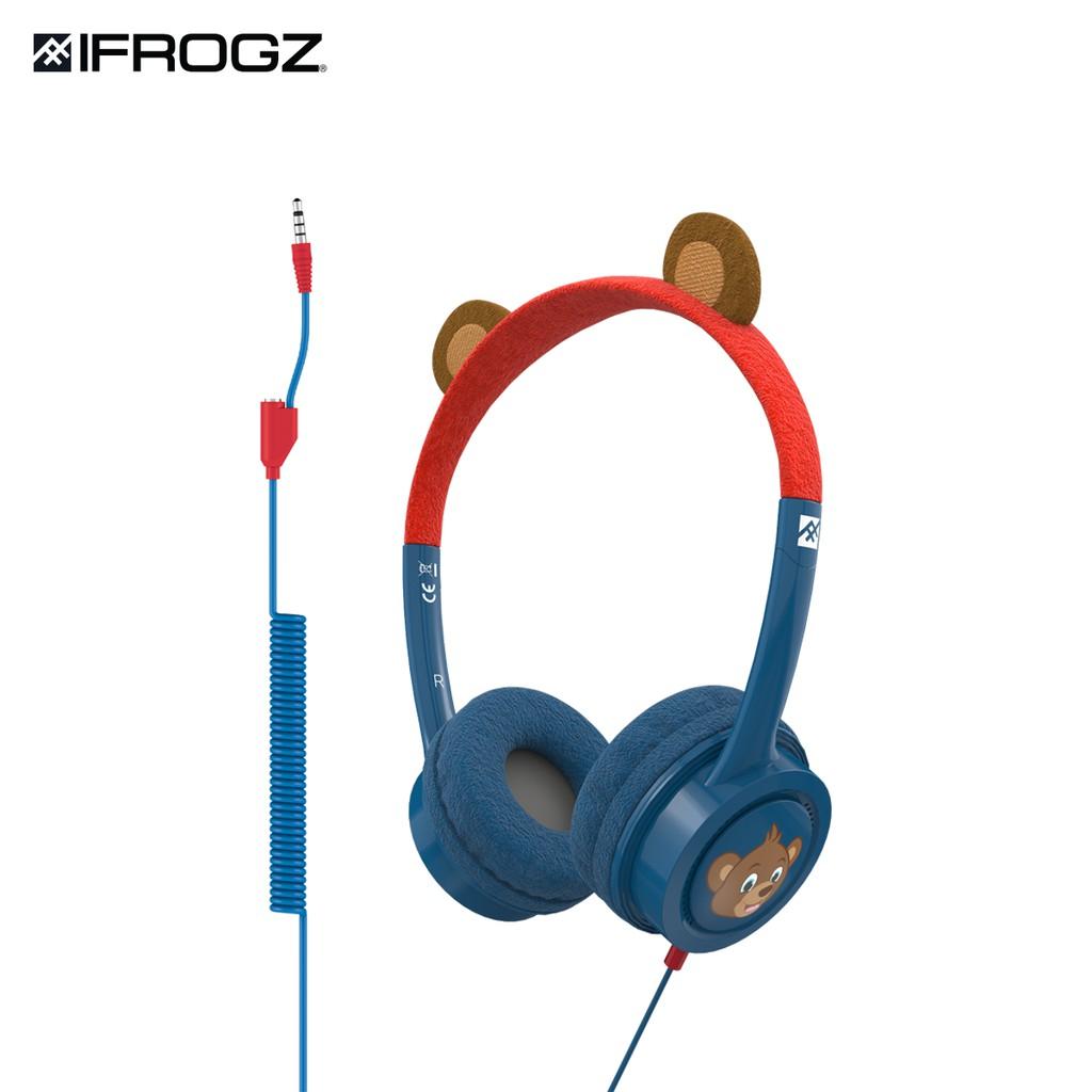 Tai nghe iFrogz Headphone-Little Rockerz Costume có dây dành cho trẻ em -  hàng chính hãng - Tai nghe có dây chụp tai (On-Ear)