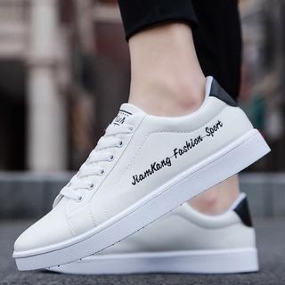 Giày Của Nam Giới Mùa Mới Màu Trắng Giày Nam Hàn Quốc Xu Hướng Hoang Dã Sinh Viên Bình Thường Giày Thể Thao Nam Giày1