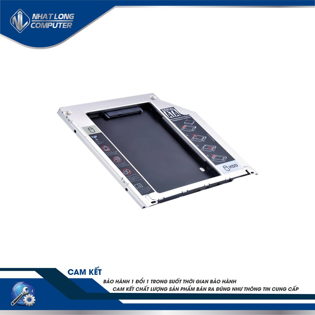 Hdd Cady Bay Laptop 2.5 Mỏng/Dày