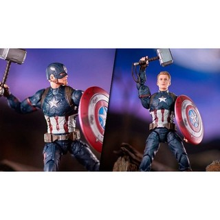 Mô hình Captain America Endgame Marvel Legends