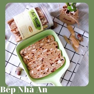Bánh Biscotti ( Hoàn toàn từ bột mì nguyên cám)