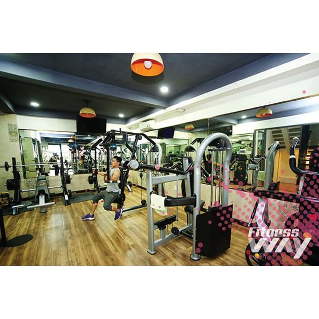 Hồ Chí Minh [Voucher] - 01 tháng tập Gym Kick Boxing Yoga không giới hạn giờ tập tại Fitness Way