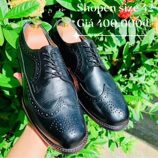 Shoopen Derby Longwing Brogue Size 42 2hand thumbnail