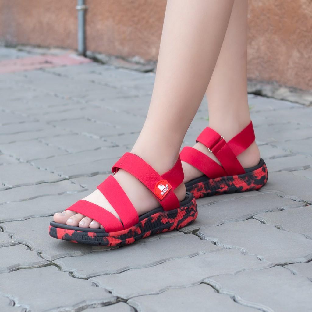 Giày sandal nữ Facota V1 Sport HA16 chính hãng sandal nữ quai dù sandal nữ đi học