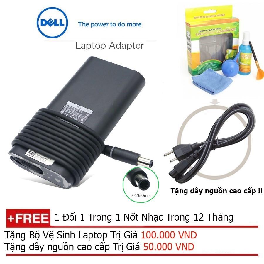 SẠC LAPTOP DELL 19.5V-4.62A chính hãng + Tặng dây nguồn dài 1.8m Giá chỉ 580.000₫